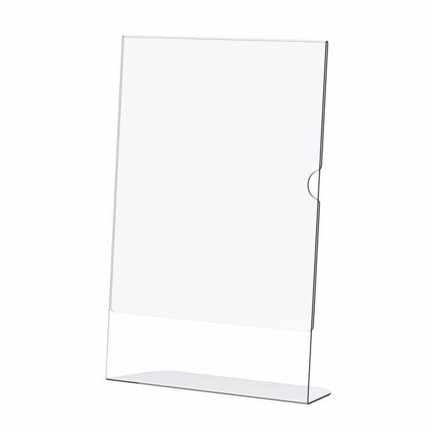 Acrylic Menu Holder - Single Sided - A6 Portrait - Box 5