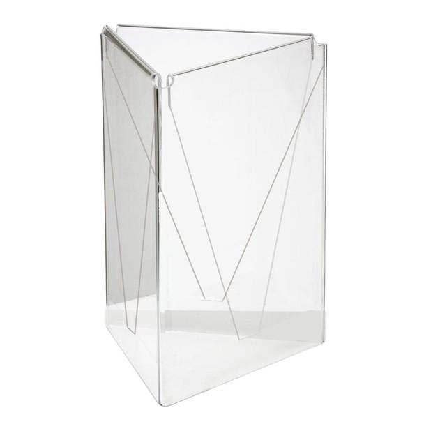 A5 Three Sided Acrylic Table Talker
