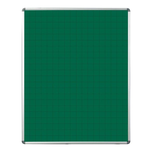 Educational Board Magnetic Chalkboard 1220910 - Grey Squares - 1 Side