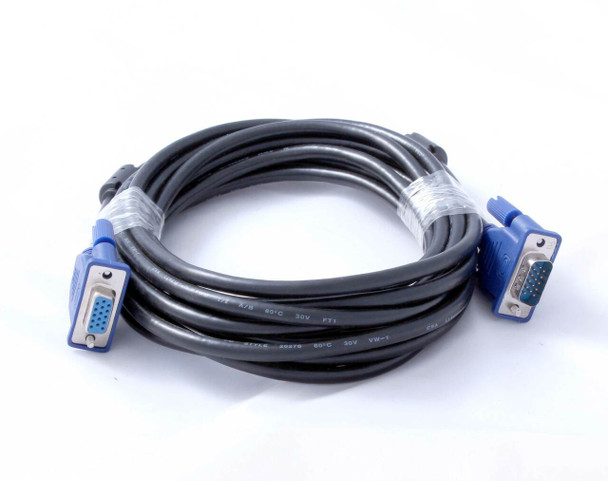 Cable - 15 Pin Male To Female VGA 5M