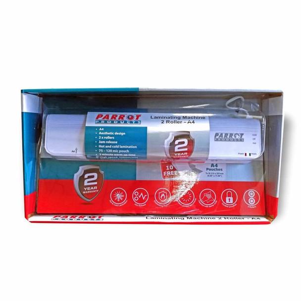 A4 Laminating Machine 2 Roller - 320MM/Min - Retail
