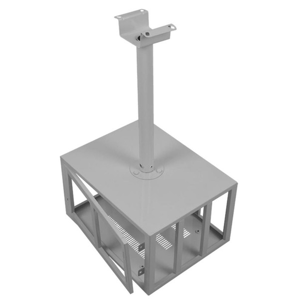 Data Projector Ceiling Mounting Bracket Lockable Security Cage - 450x220x340mm