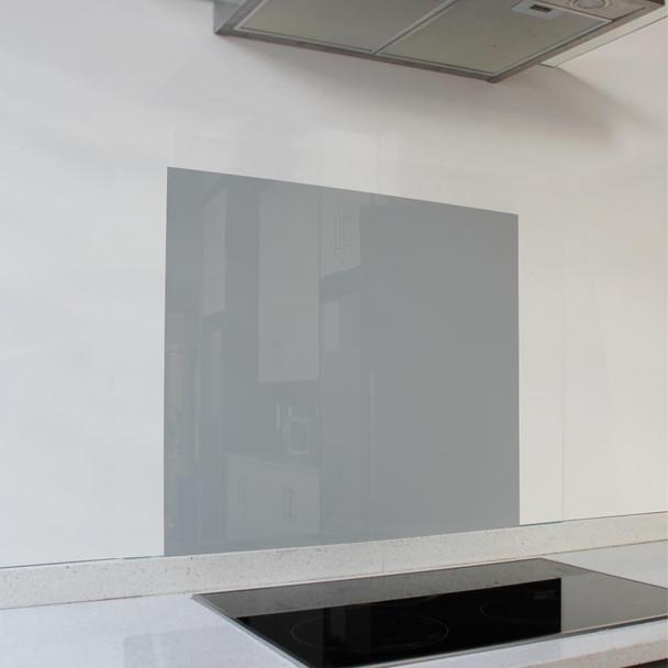Cool Grey Splashback 598 x 650 x 6mm