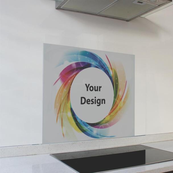 Customized Print Splashback 598 x 650 x 6mm