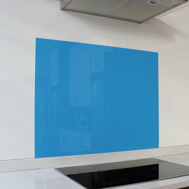 Blue Hob Splashback 898 x 700 x 6mm