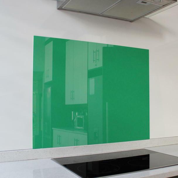 Green Hob Splashback 898 x 700 x 6mm