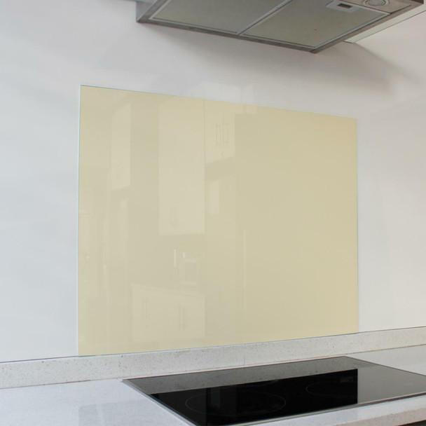 Ivory Satin Hob Splashback 898 x 700 x 6mm