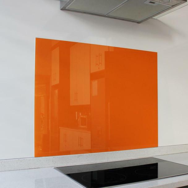 Orange Hob Splashback 898 x 700 x 6mm