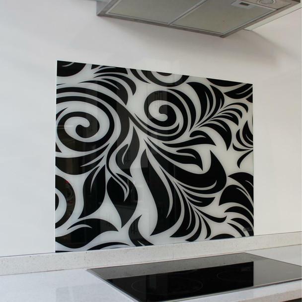 Swirl Hob Splashback 898 x 700 x 6mm