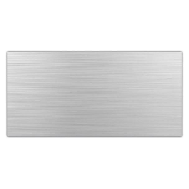 Aluminium Composite Panel 244012203mm - Brushed Aluminium