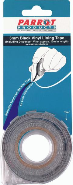 Vinyl Lining Tape 10 Meters - 3mm - Blue