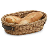 "Oval Basket, 13 1/2"" x 8 3/4"" x 3 3/4"", Bancuan Collection"