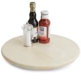 Lazy Susan, Rubberwood, 16""