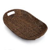 "Serving Tray - Oval, 18"" x 12"" x 3"", Abaca Collection"