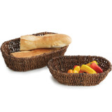 Oval Baskets - Nesting, 2-Piece Set, Abaca Collection