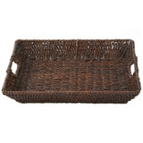 "Serving Tray - Rectangular, 18"" x 14.75"" x 2.75"", Abaca Collection"
