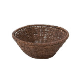 "Round Fruit Basket, 10"" x 4"", Abaca Collection"