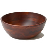 "Salad / Serving Bowl, Stained Rubberwood, 14"" x 5"", Chiang Mai Collection"