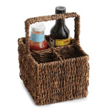 "Condiment Caddy, 6"" x 6"" x 12"", Abaca Collection"