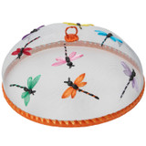 "Dragonflies Food Domes, Set of 4, 14"" x 5 1/2"""