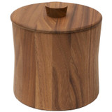 "Ice Bucket, Acacia Wood, 3 QT, 8"" x 8 1/2"""