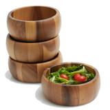 "Salad / Serving Individual Bowls, 4-Piece Set, 6 1/2"" x 2 1/2"", Calabash Collection"