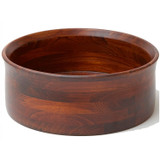 "Salad / Serving Bowl, Stained Rubberwood, 13"" x 5"", Penang Collection"