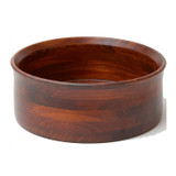 "Salad / Serving Bowl, Stained Rubberwood, 10"" x 4"", Penang Collection"
