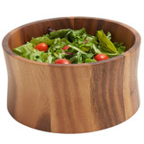 "Salad / Serving Bowl, Acacia Wood, 10"" x 4 1/2"", Bali Collection"