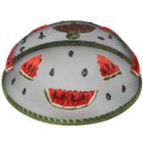 "Watermelon Food Domes, Set of 4, 14"" x 5 1/2"""