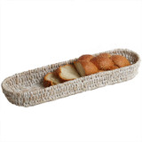 "French Bread Tray, 18"" x 5"" x 2 1/2"", Whitewash Collection"