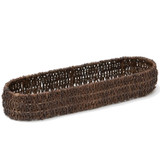 "French Bread Tray, 18"" x 5"" x 2 1/2"", Abaca Collection"