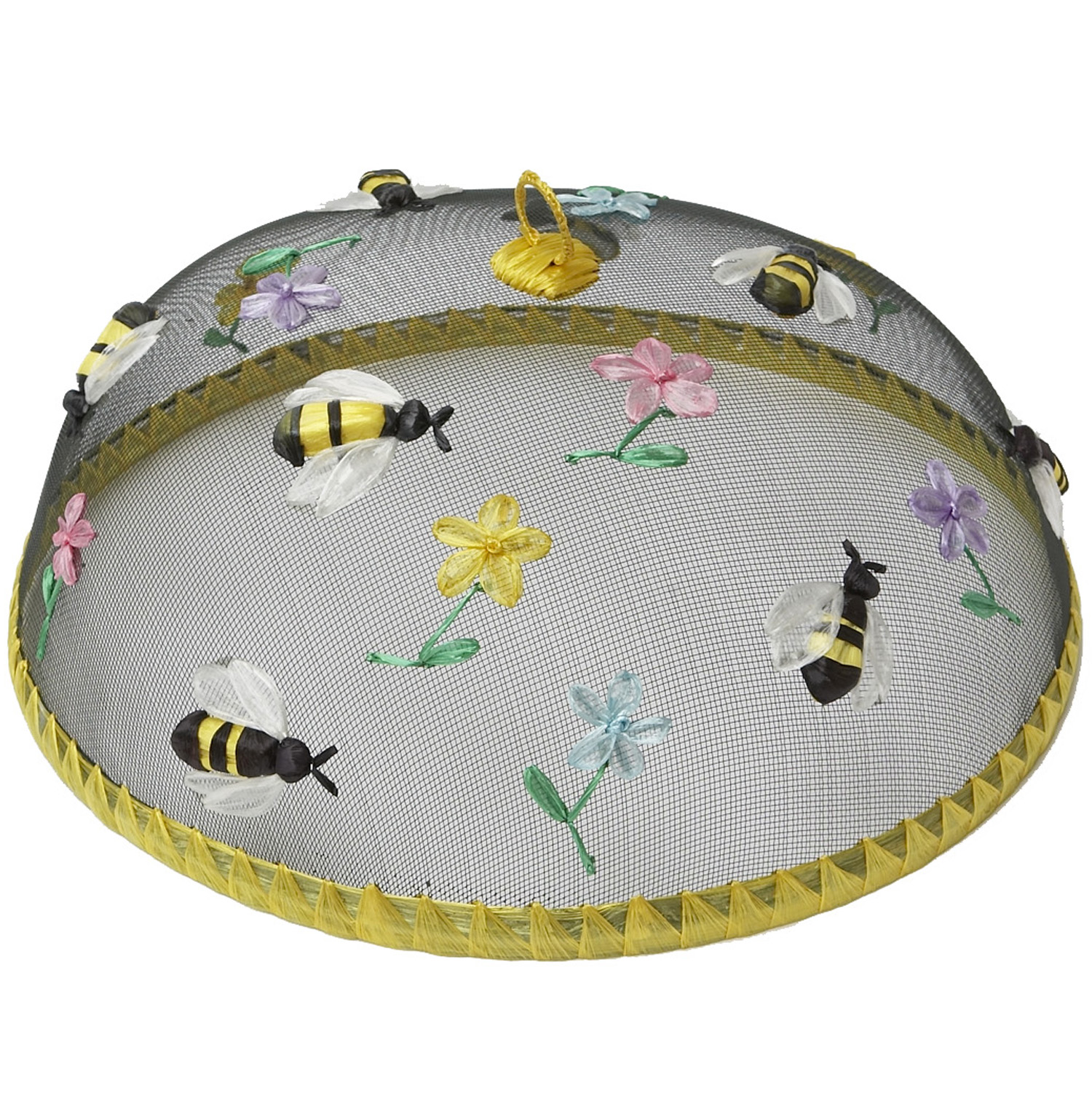 "Bees Food Domes, Set of 4, 14"" x 5 1/2"""
