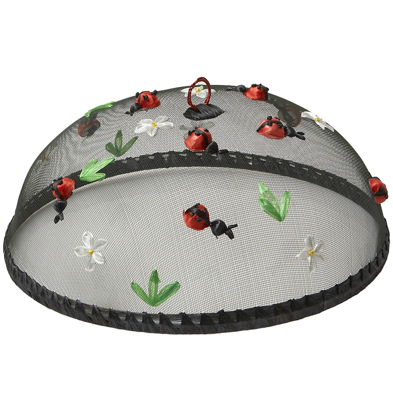 "Lady Bugs Food Domes, Set of 4, 14"" x 5 1/2"""