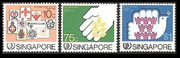 Singapore Stamps - 1985 International Youth Year - MNH, VF - (9A005)