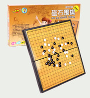 """Magnet Go (Wei Qi) Game Set - Board size : 11.0"""" x 11.0"""" x .60""""  (WX1P)"""