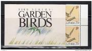Singapore Stamps - Singapore 1991 Garden Birds Booklet - (9A00F)