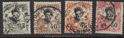 French Indochina Stamps - Scott 50-3, Used (Free Shipping by Great Wall Bookstore) - (9A071)