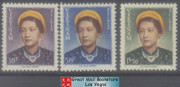 South Vietnam Stamps - 1952 , Sc 14-6 complete set, Empress Nam Phuong - MNH, F-VF (9V09N)