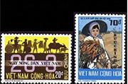 South Vietnam Stamps - 1974 , Sc 476-7 Agriculture - MNH, F-VF (9V0BG)