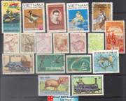 Vietnam Stamps - 18 stamps collection - Used/CTO  (9N0B3)