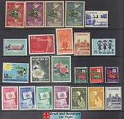 South Vietnam Stamps - 1951-64, 23 different stamps collection - MNH, F-VF  (9V0XP)