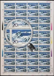 China Stamps - 1993-9 , Scott 2453-56 Changbaishan Mountains - Full Sheet of 40 sets - MNH, F-VF Post Office Fresh - (9245C)