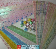 Origami Stars Papers (Large Size) Package HV (3 packs total approx. 200 pieces)(WXHV)
