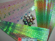 Origami Stars Papers (Large Size) Package HY (3 packs total approx. 200 pieces)(WXHY)
