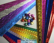 Origami Stars Papers (Large Size) Package J0 (3 packs total approx. 200 pieces)(WXJ0)