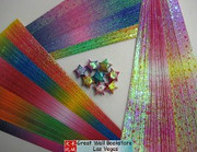 Origami Stars Papers (Large Size) Package J1 (3 packs total approx. 200 pieces)(WXJ1)