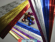 Origami Stars Papers (Large Size) Package J2 (3 packs total approx. 200 pieces)(WXJ2)
