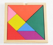 "Tangram for kids 3 years and up (size: 5.5"" x 5.5"" including frames)(WXBN)"