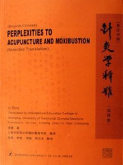 Perplexities to Acupunture and Moxibustion - (WA1B)